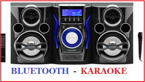 WIEŻA HI FI MC60BT KARAOKE CD BLUETOOTH BLAUPUNKT